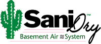SaniDry™ basement dehumidification system