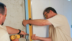installing a basement wall finishing system in Clarence