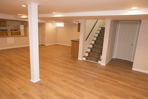 Total Basement Finishing system installed in Buffalo